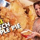 Mini Dutch Apple Pie - Apple Crumb Pie Recipe For One