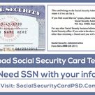 How To Add Signature On Ssn Psd File for Ssn Card Template – 11+ Professional Templates Ideas
