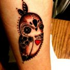 Baby Owl Tattoos