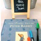 A Peter Rabbit Baby Shower