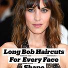 Long Bob Haircuts That Flatter Every Face Shape