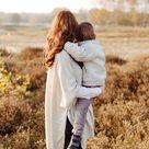 Mama und Sohn Fotos