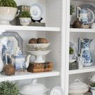 styling the living room shelves - Miss Mustard Seed