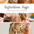 Geflochtene Zöpfe // Anleitungen mit Bildern   Mamafreundin – Blog