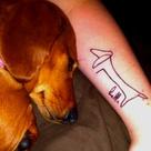 Dachshund Tattoo