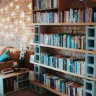 10 Original and Inexpensive Bookshelf Ideas - The Handy Mano