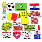 World Cup CROATIA soccer photo booth props  the ultimate fan | Etsy