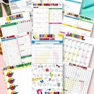 Summer Planner (35 Pages) - Printable for Instant Download
