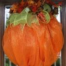 Pumpkin Wreath