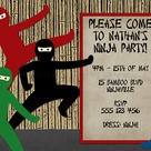 Ninja Birthday Parties