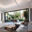 Wohnzimmer Inspiration | Kissendekoration | Gartenterrasse