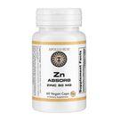 APOLLO SUN Zn Absorb Zinc Picolinate 50mg (60 Vegan Capsules) Pack of 1