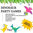 Dino Toss Feed the T. Rex Dinosaur Birthday Party Dinosaur | Etsy