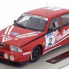 Alfa Romeo 75 Turbo Evoluzione, IMSA 1988, No.2, Nannini/Loubet/Alboreto. Top Marques, 1/18, No.TOP32. 180 EUR