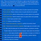 Atajos de teclado para Windows 10 infografia infographic microsoft   TICs y Formación