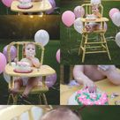 Baby Session  Happy Birthday Kendall   Burlington NC/ Raleigh NC/ Triad Area NC Baby Photographer