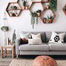 Boho Chic Living Room Ideas   Jess Baker Beauty