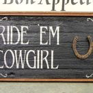Country Wood Signs