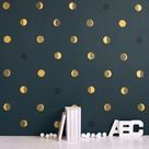 Gold Dot Wall