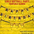 Softball Party