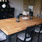 Table De Ferme Peinte
