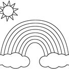 Free Rainbow Coloring Pages - Free Coloring Pages
