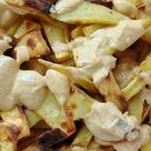 Patatas al horno con salsa de curry - Receta de Tasty details