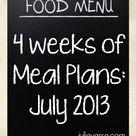 Week Of Meals