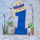 Fishing birthday shirt