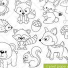 Clip art images by Pixel Paper Prints von pixelpaperprints auf Etsy