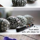 Stilvolle Osterdekoration mit kreativen Ostereiern anfertigen