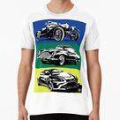 Aston Martin Evolution Men's Premium T shirt by nikkihw