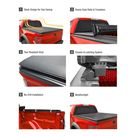 Soft Roll Up Truck Bed Tonneau Cover for 2015-2019 Ford F-150 | Styleside 6.5' Bed