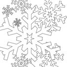 Christmas Snowflakes Everywhere Coloring Page - Download & Print Online Coloring Pages for Free