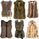 Faux Fur Vests