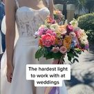 How to take wedding photos in bright sunlight