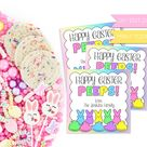 Easter Gift Tags, Easter Cards, PRINT TODAY, Easter Gift Basket, Instant Download, Easter Favors, Quarantine Gifts, Care Package