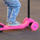 Toy Time Pink Beginner 3-Wheel Scooter | Michaels®