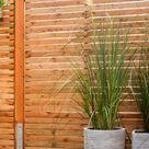 Zaun & Sichtschutz selber bauen   OBI Gartenplaner
