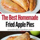 The Best Fried Apple Pies Recipe