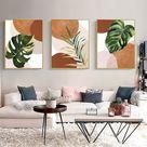 Boho decor set of 3 prints boho wall decor download mid | Etsy