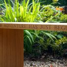 Personalised Oak Garden Bench from From: £469.00