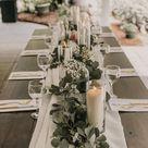 Tablescape Inspiration! Classic White Farmhouse Table Decor