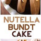 Nutella Bundt Cake - Chef in Training