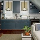 Colored Cabinets