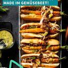 Vegane Möhren-Hotdogs