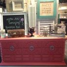 Coral Painted Dressers