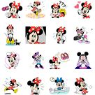 This set of animated stickers features Minnie Mouse doing what she does best   looking absolutely adorable. The cutest mouse around has never looked better Use these stickers to light up your chats with her dazzling smile and classy fashion sense.