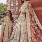 Embellished Gown Pakistani Bridal Wear Online BN122   MEDIUM