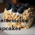 Watermelon Cupcake Recipes